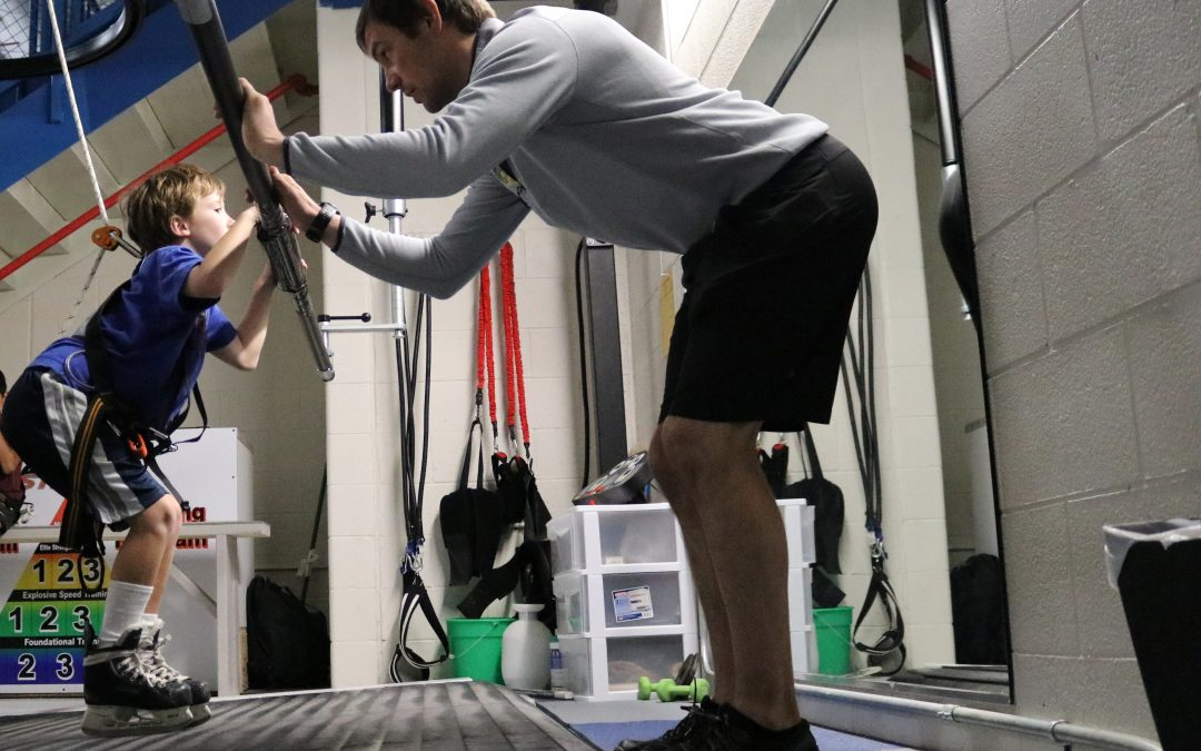 should goalies skate on the treadmill